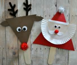 easy christmas crafts kids find craft ideas