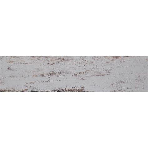 ms international white washed wood 6 in x 36 in glazed