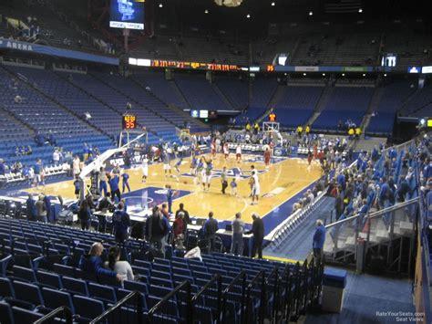Section H by Rupp Arena Section 19 Rateyourseats