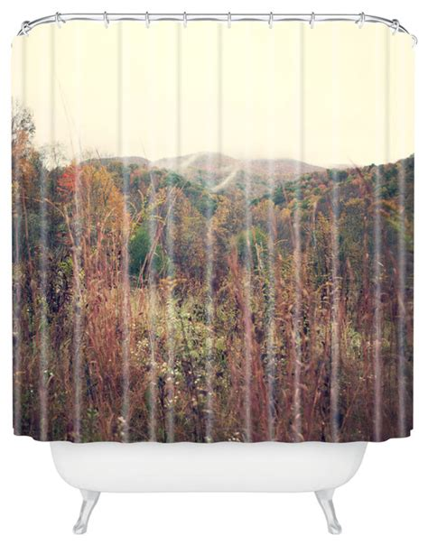 rustic orange curtains catherine mcdonald autumn in appalachia shower curtain
