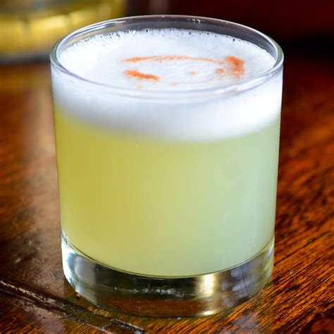 pisco sour cocktail recipe