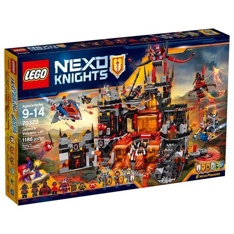 amazon lego amazon com lego nexo knights 70323 jestro s volcano lair