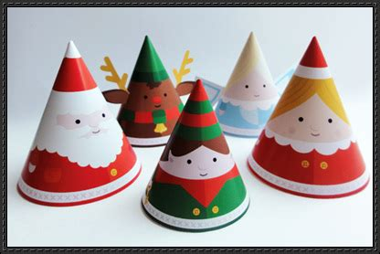 christmas papercraftsquare free papercraft download