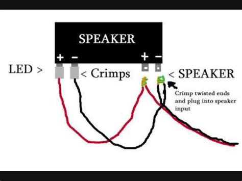 6x9 speakers with led lights dual illuminite wiring diagram youtube