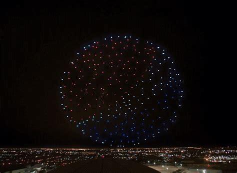 intel drones perform light show   super bowl halftime
