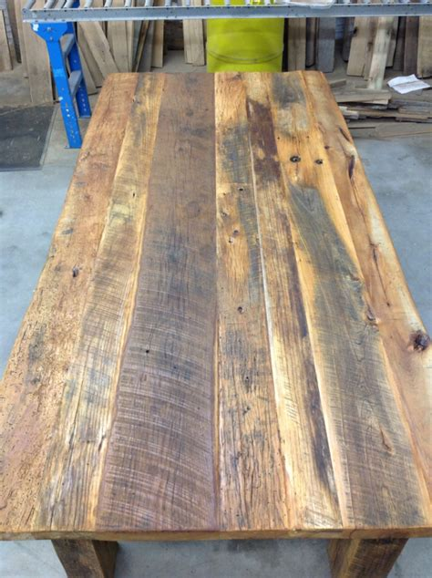 reclaimed wood kitchen tables for sale reclaimed wood tables on live edge furniture