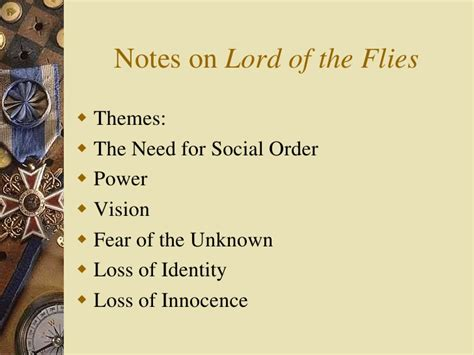 themes of power in lord of the flies lord of the flies