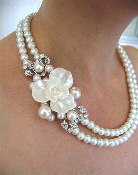 Halskette Perlen Hochzeit by 301 Moved Permanently