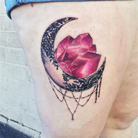 crystal tattoo these gorgeous tattoos will definitely test your
