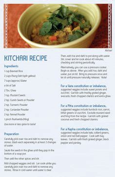 Ayurvedic Detox Khichdi by Kitchari Khichadi Khichdi Kitcharee Is The
