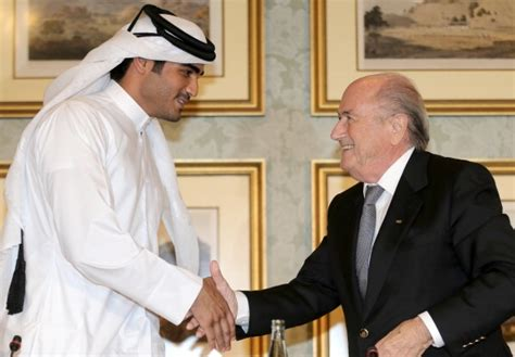 sheikh mohammed bin hamad bin khalifa al thani of qatar qatar 2022 world cup bribery claims time to kick fifa out