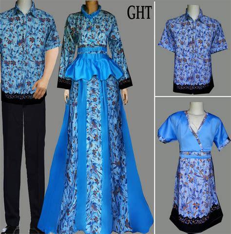 Model Gamis Laki2 jual model baju batik keluarga muslim batik sarimbit v3