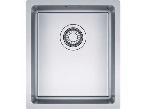 lavelli sottotop franke lavello a una vasca sottotop in acciaio inox npx 110 by franke