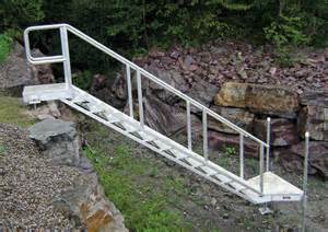 aluminium treppe aluminum stairs for or waterfront access