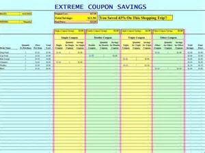 Grocery Spreadsheet by Printable Grocery Coupons Truecouponing Savings For