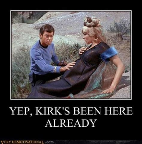 Star Trek Captain Kirk Meme - funny motivational posters vol 174 barnorama