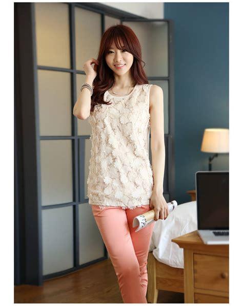 Baju Atasan Wanita Murah Atasan Korea Import Louise Top jual baju kerja newhairstylesformen2014