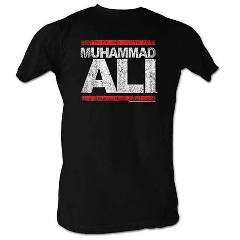 Muhammad Ali Black Shirt muhammad ali run dmc black t shirt american classics