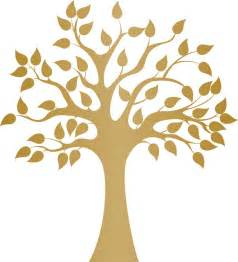 Modern Golden Tree Wall Decal   Contemporary   Wall Decals   by Dana Decals