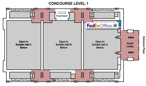 boston convention center floor plan boston convention and exhibition center boston ma business printing services fedex office