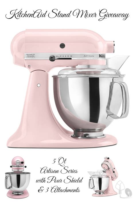 Kitchenaid Stand Mixer Giveaway - kitchenaid stand mixer giveaway the rebel chick