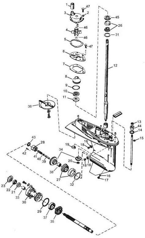 Mercury 2cyl. 20 Hp 2 Stroke Wiring Diagram