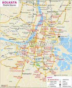 Kolkata India Map by Mobile Stores In Kolkata