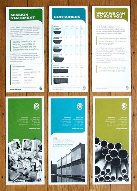 layout features of a leaflet 96 best images about clean print design on pinterest