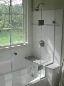 half shower glass door half shower door shower doors