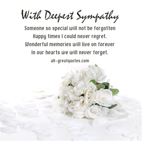 someone so special will not be forgotten sympathy condolences messages jpg 650 215 646