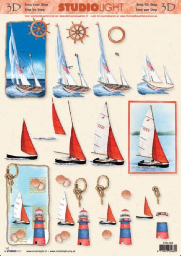 step by step decoupage sailing boats 3d step by step decoupage 564 jacques crafts