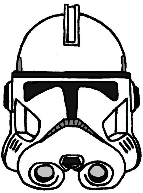 clone trooper coloring pages clone trooper helmet coloring page www imgkid the