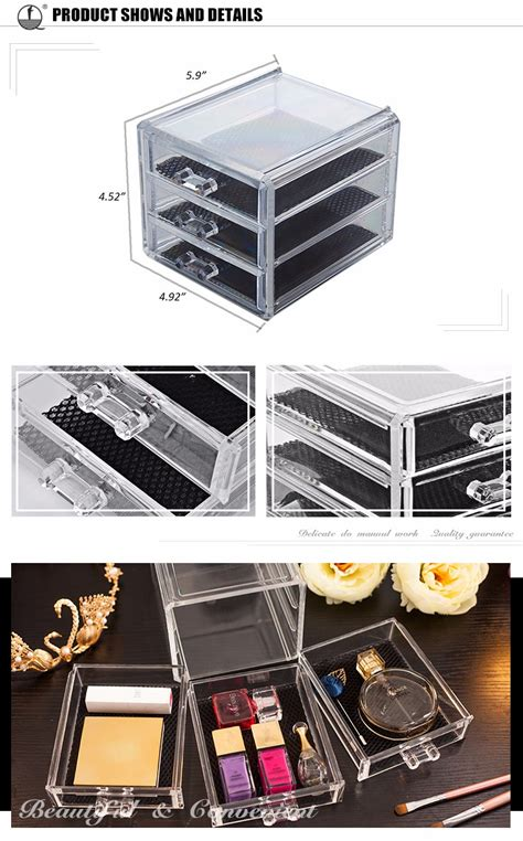 New Product Oem Eco Friendly Cheap Drawers Acrylic Desk Cheap Desk Organizers