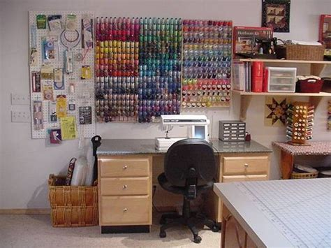 crafts craft rooms and thread storage on