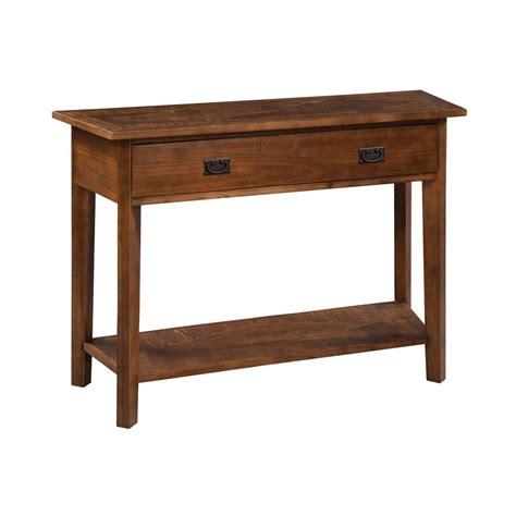 oak sofa table with storage alaterre furniture revive natural oak storage console