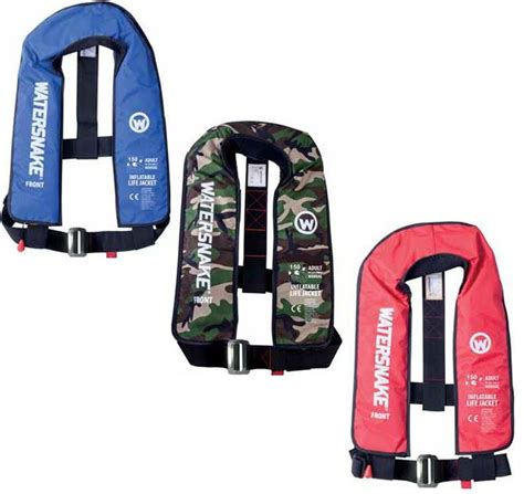 watersnake inflatable boats for sale watersnake inflatable manual 150n life jackets 163 59 99