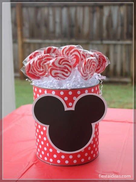 decoraciones deminnie en latas de leche 50 ideas de fiesta mickey mouse decoraciones