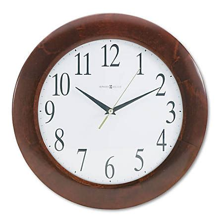 analog howard miller wall clock howard miller corporate wall clock analog quartz by office