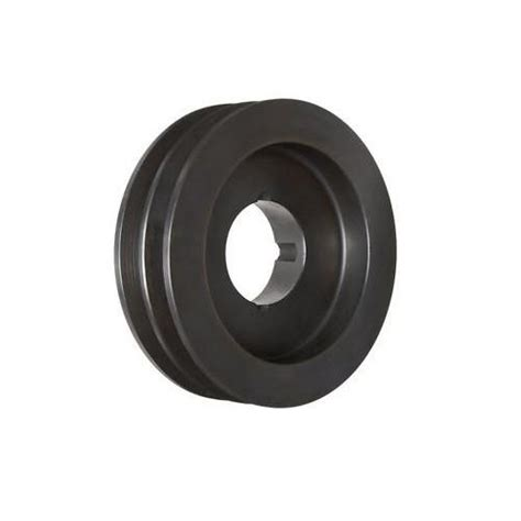 spa080x2 v belt pulley 2 groove taper lock 1210