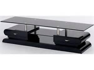 meuble tv noir conforama artzein