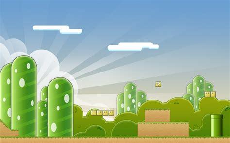 Landscape Ppt Mario Landscape Backgrounds For Presentation Ppt
