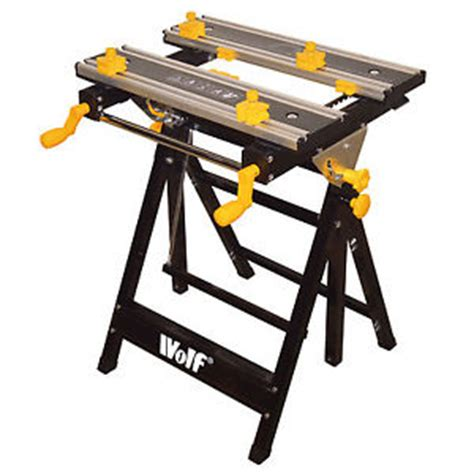 adjustable height work bench wolf work bench mate folding table adjustable height