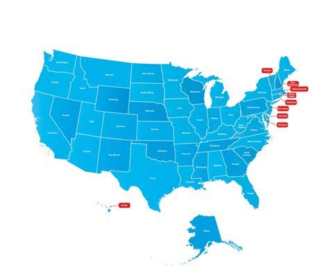 usa map  map  north america