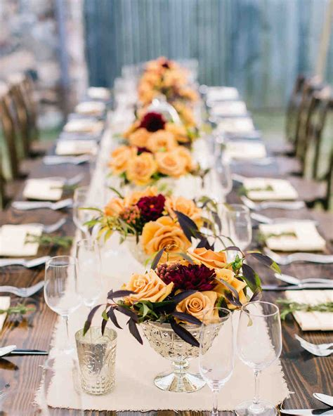 martha stewart fall centerpieces 51 rustic fall wedding centerpieces martha stewart weddings