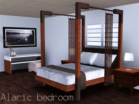 Bedroom Sets For Sims 3 Spacesims Alaric Bedroom