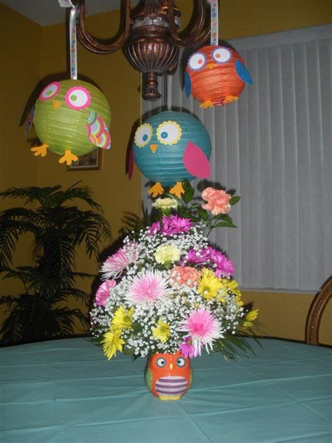 Owl Birthday Decorations by 17 Best Ideas About Owl Decorations On