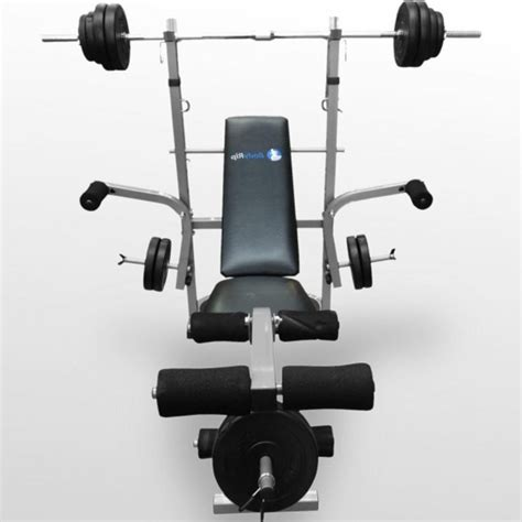 olympic bench press set with weights weight lifting bench press smith machine squats olympic