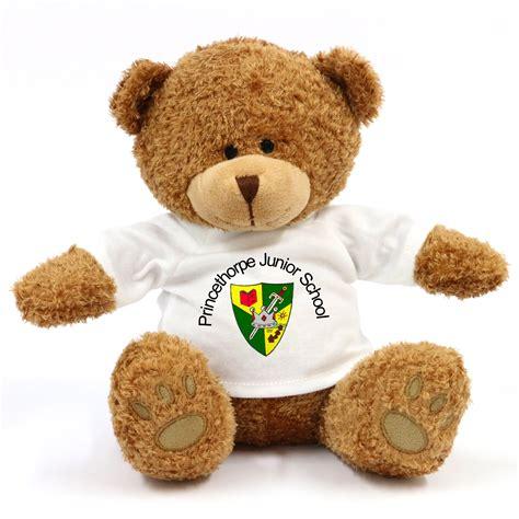 personalised teddy bear edward school bears