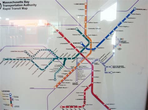 boston transit map five observations about boston that surprised me travel