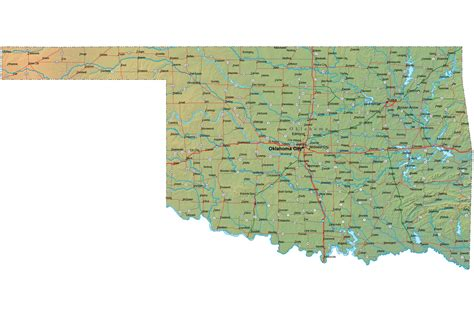 Of Oklahoma Search Map Of Oklahoma Oklahoma Maps Mapsof Net